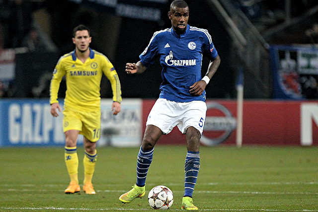 Demnächst wohl für den 1. FC Köln am Ball: Schalke-Verteidiger Felipe Santana Foto: imago/Jan Hübner