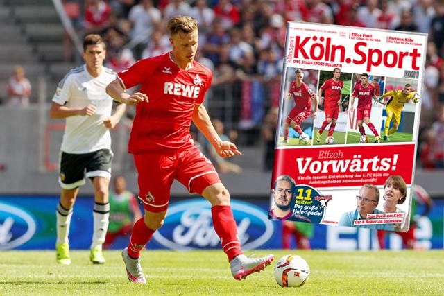 Jetzt am Kiosk: Die neue September-Ausgabe des Köln.Sport-Magazins ist nun erhältlich Foto: imago/