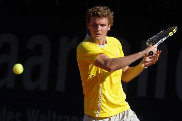 Oscar Otte bezwang Aachens Top-Spieler Matthias Bachinger.  Foto: imago/Eibner