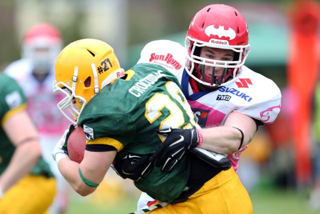 Kämpften sich zum Junior Bowl-Titel: die Cologne Crocodiles  Foto: imago / objectivo