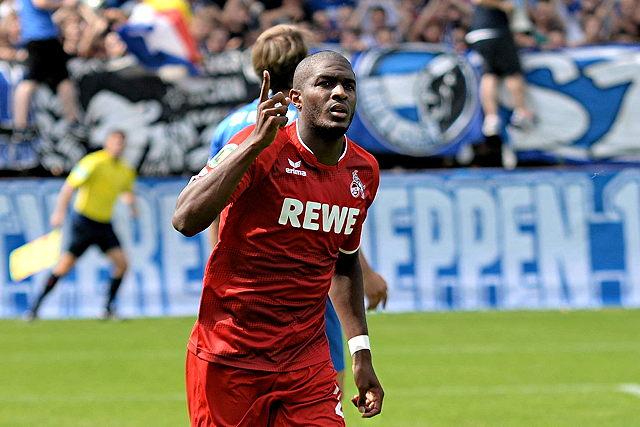 Matchwinner in Meppen: FC-Neuzugang Anthony Modeste traf beim 4:0 gleich dreifach Foto: imago/Osnapix