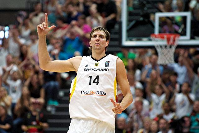 Trifft mit der DBB-Auswahl in Köln auf Frankreich: NBA-Superstar Dirk Nowitzki Foto: imago/Camera 4
