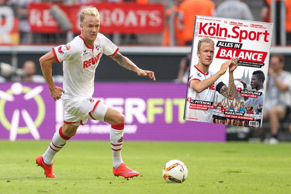 Jetzt am Kiosk: Die Oktober-Ausgabe der Köln.Sport Foto: imago/Eibner