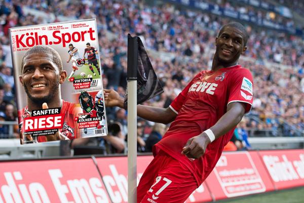 Bescheidener Topstar: Kölns Neuzugang Anthony Modeste. Foto: imago/DeFodi