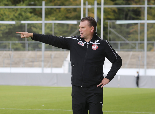 Da lang geht´s aus dem Tabellenkeller: Fortuna-Trainer Uwe Koschinat Foto: Imago/Sportfoto Rudel
