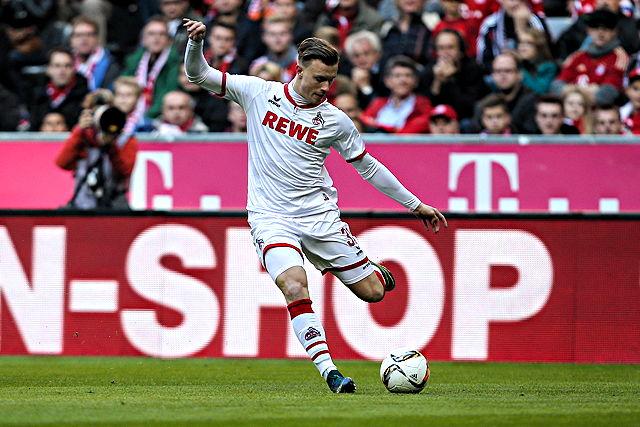 Fehlt dem 1. FC Köln beim Pokalspiel in Bremen: Yannick Gerhardt Foto: imago/DeFodi