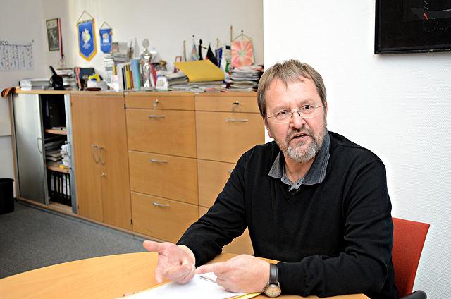 Dieter Sanden, Leiter des Sportamts