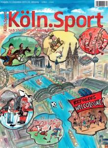 Titel der Dezember-Ausgabe von Köln.Sport
