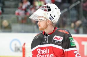 Kölner Haie Goalie Gustaf Wesslau