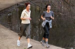 Joggerinnen im Kölner Stadtpark