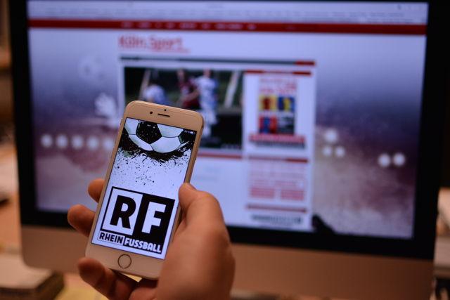 rheinfussball.de App