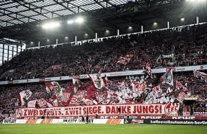 Fans Südkurve 1. FC Köln Choreographie
