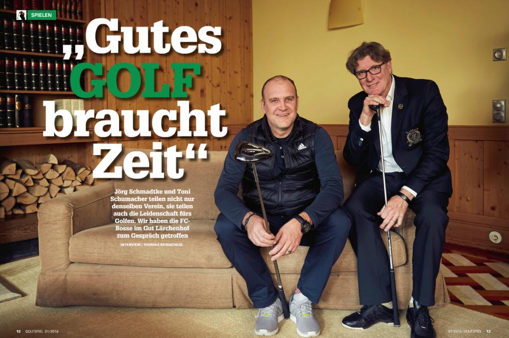 GOLFSPIEL - das Magazin für Golfer im Rheinland