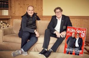 Die neue Köln.Sport-Ausgabe ist da. Jörg Schmadtke und Toni Schumacher im Interview.