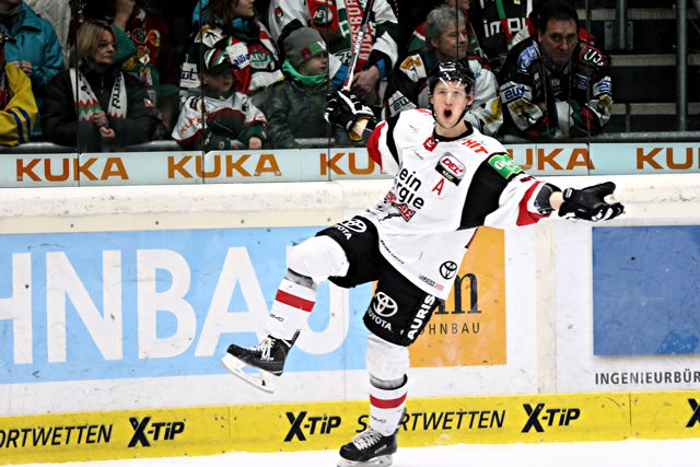Patrick Hager Kölner Haie Augsburger Panther