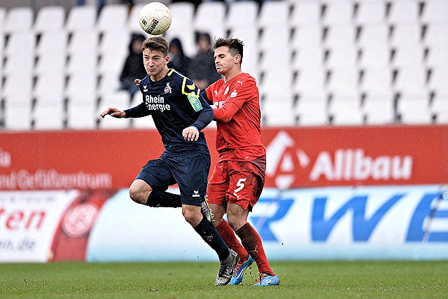 Salih Özcan 1. FC Köln II Rot-Weiss Essen