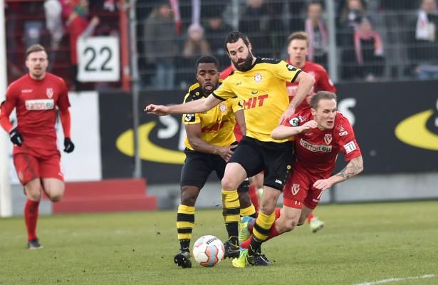 Kristoffer Andersen und seine Zweikampfstärke sind auch in Fortunas Heimspiel gegen Kiel gefragt