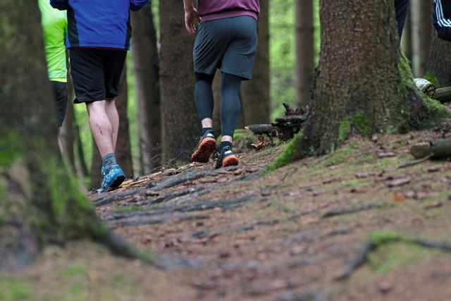 Probleme an der Achillessehne treten häufig bei Joggern auf Foto: Jennifer Schattling