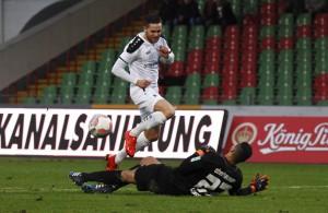 Punkten müssen Mike Wunderlich und der FC Viktoria