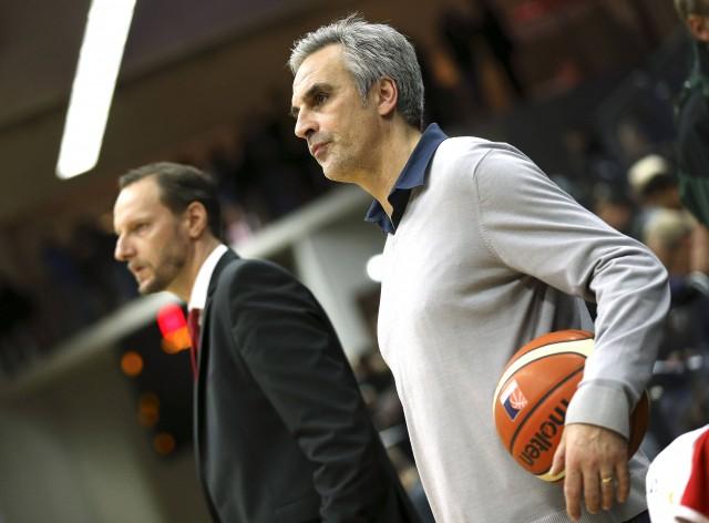 RheinStars-Geschäftsführer Stephan Baeck und Trainer Arne Woltmann