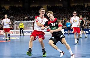Deutschland gegen Dänemark bei der Handball-EM