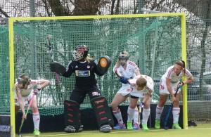 Rot-Weiss Köln Hockey-Damen gegen Club an der Alster