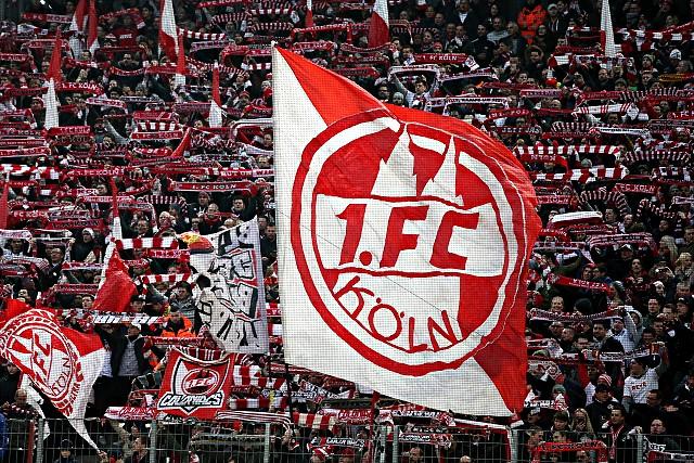 Fans des 1. FC Köln