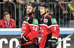 Dragan Umicevic und Shawn Lalonde, Kölner Haie
