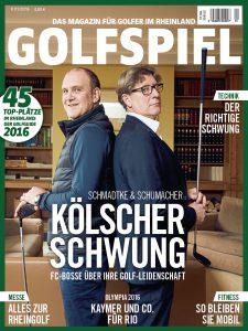 Dieses Interview war Titelgeschichte der ersten GOLFSPIEL-Ausgabe 2016