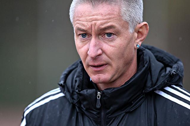 Gab am Wochenende sein fußballerisches Comeback für den SC Brück: Grembergs Trainer Marco Heintz Foto: Ben Horn