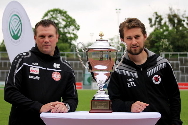 Uwe Koschinat (Fortuna Köln), FVM-Pokal, Tomasz Kaczmarek (Viktoria Köln)