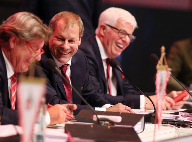 Der Vorstand des 1. FC Köln