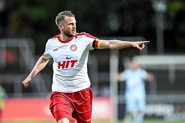 Daniel Flottmann, Kapitän Fortuna Köln