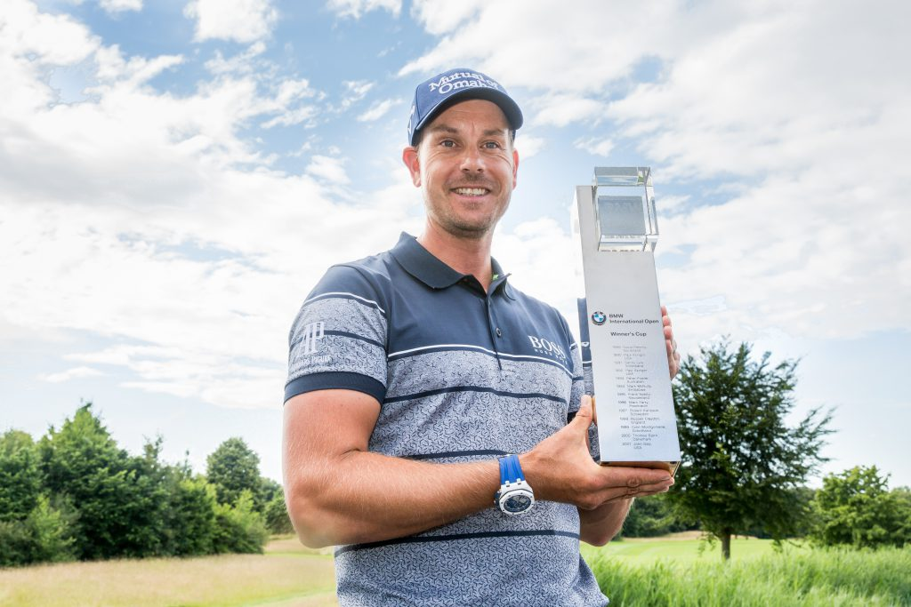 Henrik Stenson gewinnt die BMW International Open 2016