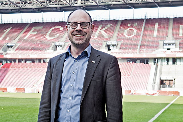 Lutz Wingerath, Geschäftsführer der Sportstätten GmbH