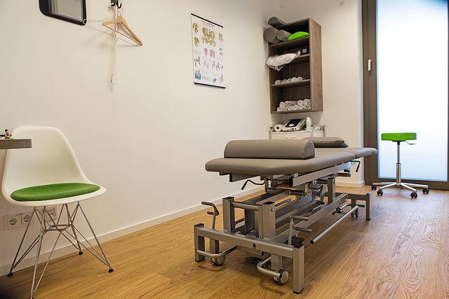 Konzept mit Zukunft: Im Clubhaus befindet sich eine Physiotherapie-Praxis Foto: Ben Horn