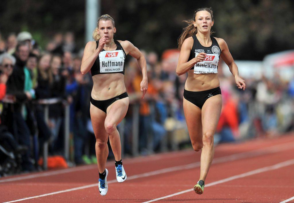 Zwei Läuferinnen aus Köln