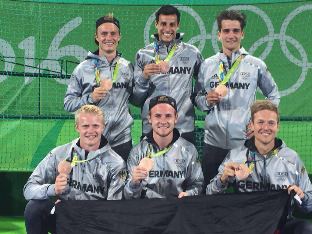 Die deutschen Hockey-Herren gewinnen bei Olympia in Rio Bronze