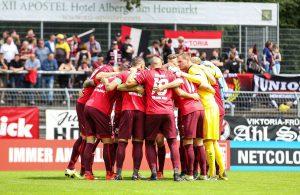 Die Mannschaft von Viktoria Köln