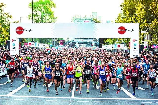 Mehr als 21.000 Läuferinnen und Läufer sind bereit für die Jubiläumsausgabe des Köln Marathon gemeldet Foto: PR