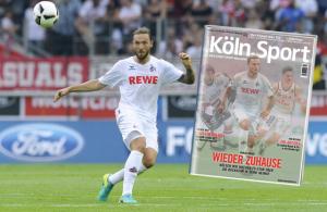 Marco Höger vom 1. FC Köln