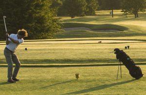 Eine Top-Adresse im rheinischen Golfsport: Die Anlage Am alten Fliess in Bergheim-Fliesteden