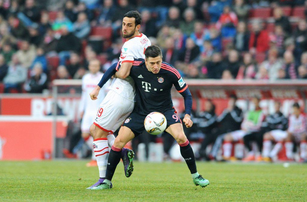Seit der Rückkehr in die Bundesliga gab es für den FC gegen die Bayern nichts mehr zu holen. Letzte Saison verloren die Kölner gegen den FCB zuhause knapp mit 0:1 Foto: imago/Uwe Kraft