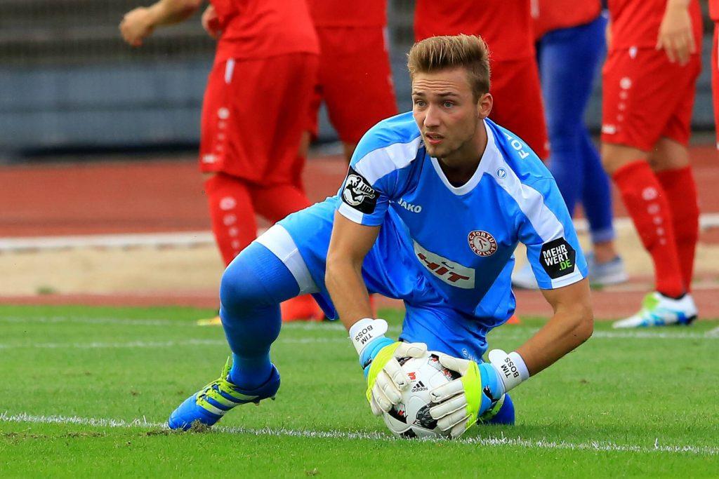 Tim Boss ist Torwart bei Fortuna Köln
