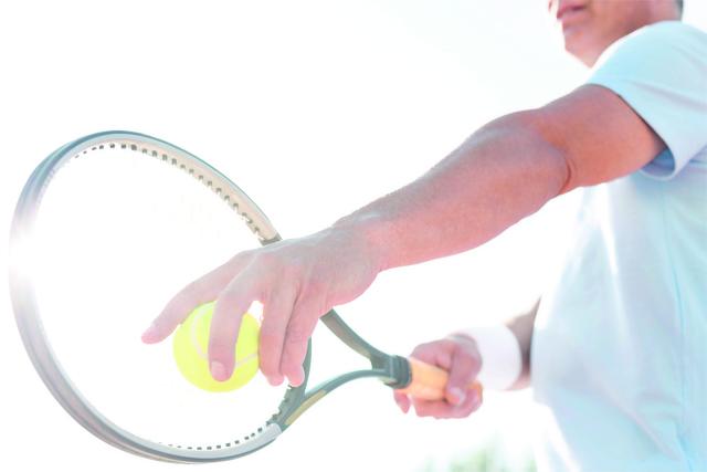 """Ein """"Tennisarm"""" kommt seltener vom Tennis, als man denkt Foto: GettyImages"""