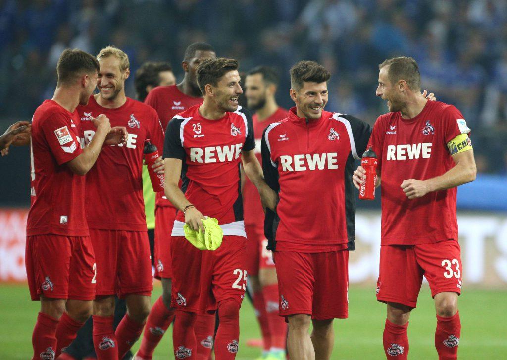 Der 1. FC Köln gewinnt das ansehnliche Freundschaftsspiel beim Bonner SC locker mit 3:1. Einzig Milos Jojic (2.v.r.) fällt negativ auf. Foto: imago/Team2