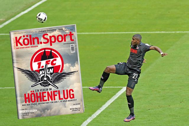 Dauerhafter Höhenflug? Anthony Modeste und der 1. FC Köln sind perfekt in die Saisons gestartet. Doch was ist für die Geißböcke drin? Foto: imago/mika