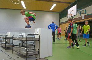 Sportunterricht in Notunterkünften? Geht' nicht. Der Sport hat das Nachsehen