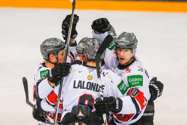 Kölner Haie bejubeln 8:4-Auswärtssieg in Ingolstadt