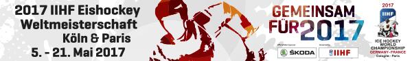 IIHF Eishockey WM 2017 Banner